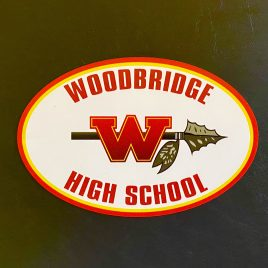 Woodbridge High School Car Magnets (4″ X 6″ – Strong magnets stay on through most car washes)