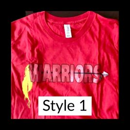 T-shirt Style 1 – Available in Unisex Crew