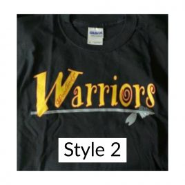 T-shirt Style 2 – Available in Women's Crew & Unisex Crew