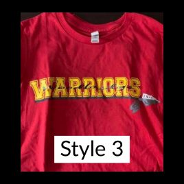 T-shirt Style 3 – Available in Women's Crew & Unisex Crew