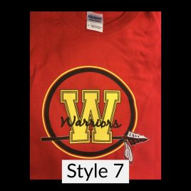T-shirt Style 7 – Available in Unisex Crew